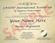 Master Hypnotist Certification